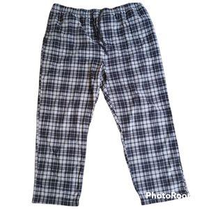 Mens NAUTICA Flannel Pajama Pants XXL Sleepwear Elastic Waist Drawstring Pockets